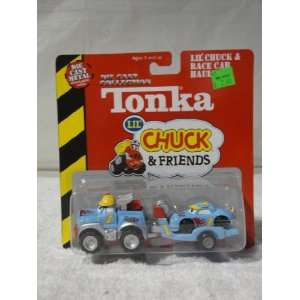 2002 Tonka Die Cast Collection Lil Chuck & Friends Race