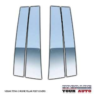 2004 2012 Nissan Titan Chrome Pillar Post Covers