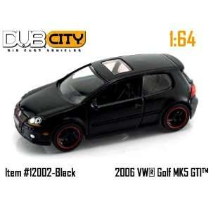 Jada DUB CITY Volkswagen Golf MKS GTI #180 Toys & Games