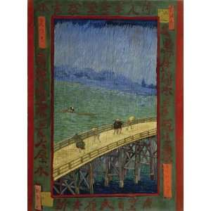 Van Gogh Bridge In The Rain Wooden Jigsaw Puzzle Toys
