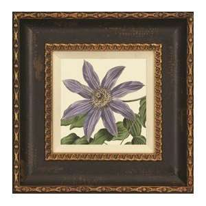 Purple Passion Flower, Artist Unknown, Large