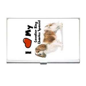 I Love My Cavalier King Charles Spaniel Business Card