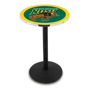 36 North Dakota State Counter Height Pub Table   Round
