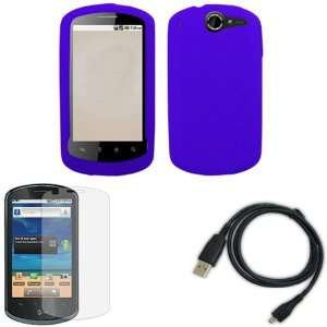 iFase Brand Huawei U8800/Impulse 4G Combo Solid Dark Blue
