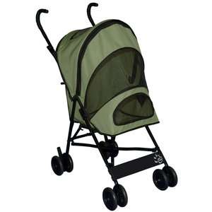 Pet Gear Travel Lite Pet Stroller in Sage Dogs