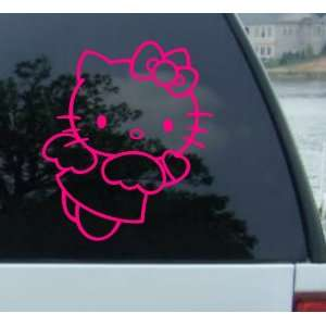 18 Large Hello Kitty Angel Pink   Vinyl Decal Sticker
