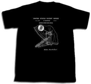 LUDWIG SPEED KING BASS DRUM PEDAL PATENT SHIRT M L XL 2