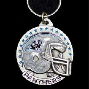 NFL Helmet Key Ring   Carolina Panthers