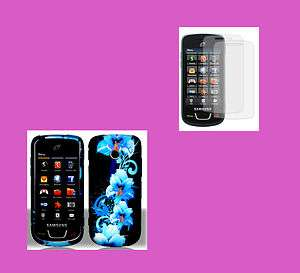 BFLR+SCREEN PROTECTOR Straight Talk Samsung SGH T528G Phone Cover Hard
